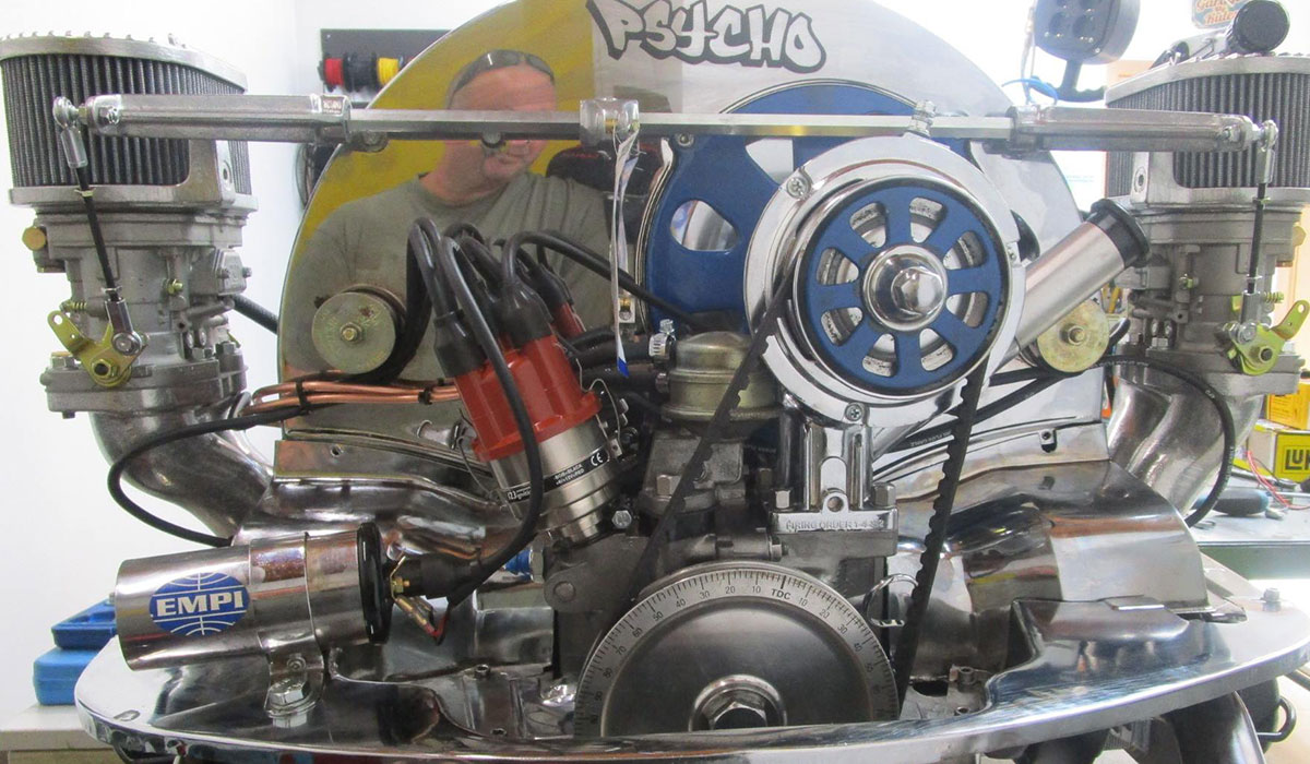 Doppelvergaser VW Motor